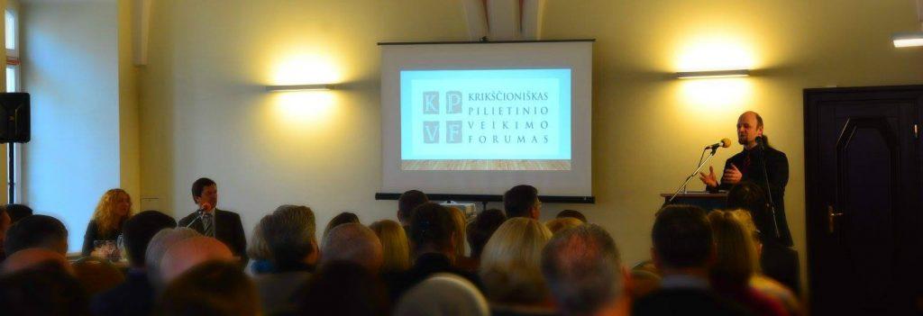 Krikščioniško pilietinio veikimo forumas: kad gyventume teisingesnėje visuomenėje, siekiančioje bendrojo gėrio (I dalis)