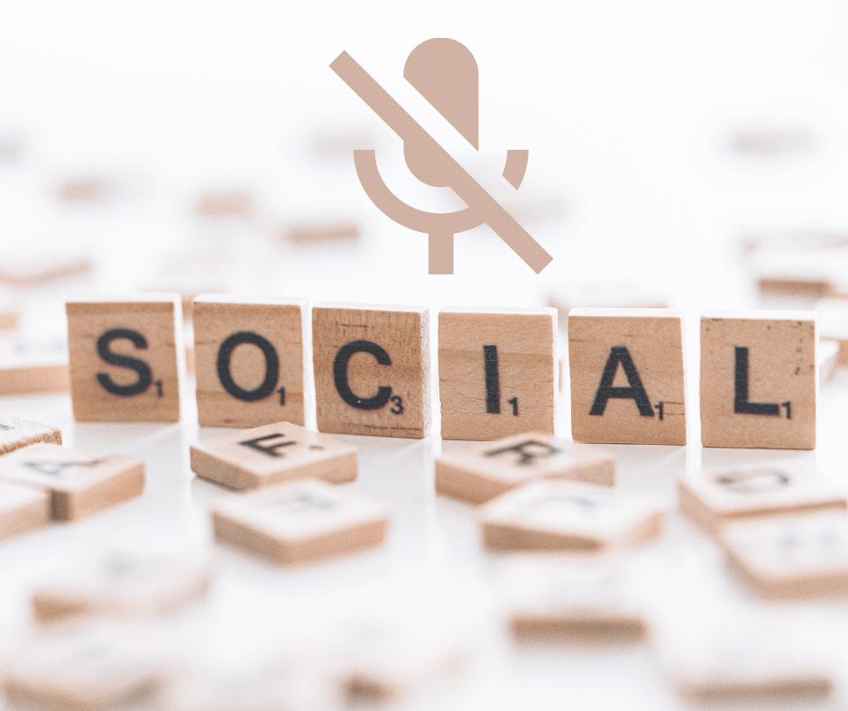 Didysis nutildymas socialiniuose tinkluose