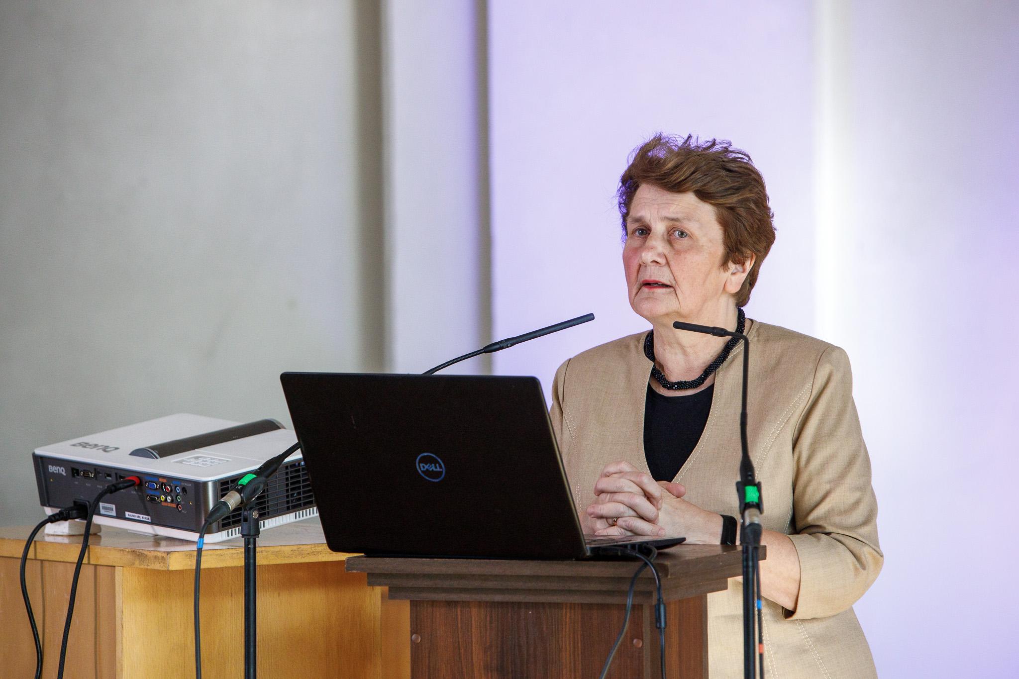 Doc. dr. Ramunė Jurkuvienė, nuotr. Erlendo Bartulio