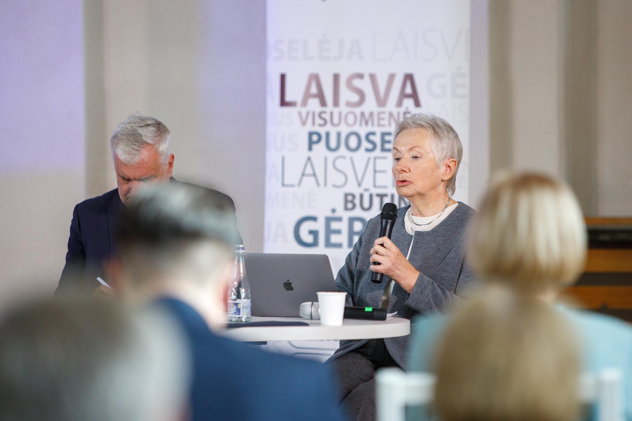 Dr. Irena Eglė Laumenskaitė, nuotr. Erlendo Bartulio